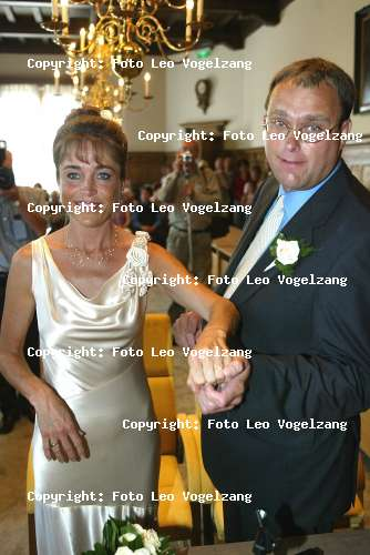 Yvonne van Gennip with Husband Gert van Kuijk